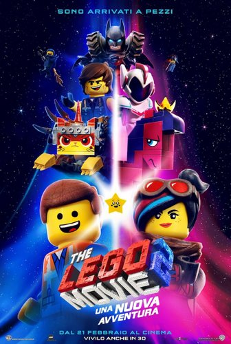 Poster ufficiale lego movie 2 png 1400x0 q85
