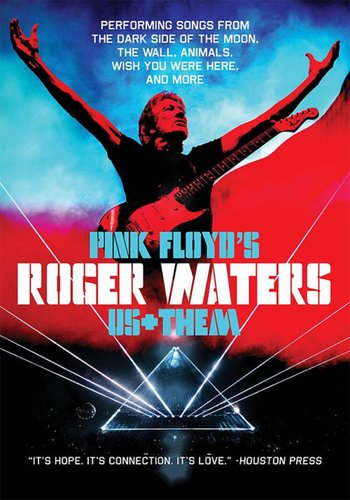 Locandina roger waters us plus them