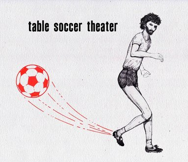 SUPERSOCRATES The table soccer play