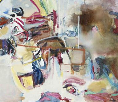 Albert Oehlen | Grandi quadri miei con piccoli quadri di altri