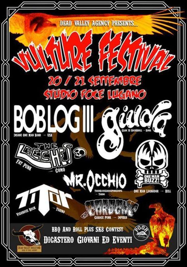 Vulture festival eventi agendalugano for Garage programma progetti gratuiti